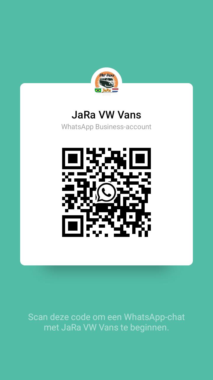 Contact ons via Whatsapp en scan onze QR code